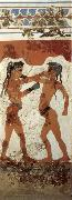 unknow artist Boys Boxing,from Thera oil painting picture wholesale