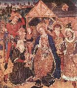 unknow artist Adoration of the Magi oil painting picture wholesale