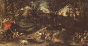 Annibale Carracci Hunting (mk05) oil painting picture wholesale