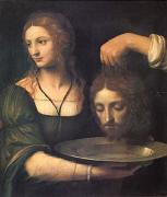 Bernadino Luini Salome Receiving the Head of John the Baptist (mk05) oil painting picture wholesale
