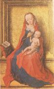 Dirck Bouts The Virgin Seated with the Child (mk05) oil painting artist