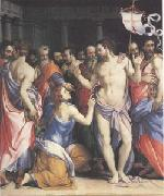 Francesco Salviati The Incredulity of Thomas (mk05) oil painting picture wholesale