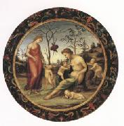 Giovanni Sodoma Sacred and Profane Love with Anteros,Eros and Two Other Cupids (mk05) oil painting picture wholesale