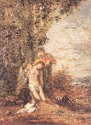 Gustave Moreau Saint Sebastian and the Holy Women oil painting picture wholesale
