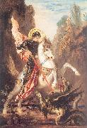 Gustave Moreau Saint George and the Dragon oil painting picture wholesale