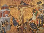 Henri Belle-chose Christ on the Cross with the Martyrdom (mk05) oil painting picture wholesale