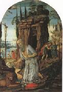 Jacopo di Arcangelo called jacopo del sellajo st Jerome in he Desert (mk05) oil painting picture wholesale