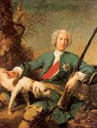 Jean Marc Nattier Peter I oil painting picture wholesale