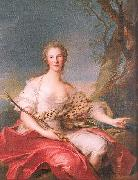 Jean Marc Nattier Madame Bouret as Diana oil painting picture wholesale