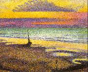 Lemmen, Georges Beach at Heist oil painting picture wholesale
