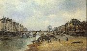 Lepine, Stanislas Quais of the Seine oil painting picture wholesale