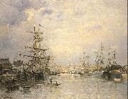 Lepine, Stanislas The Port of Caen oil painting picture wholesale