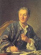 Loo, Louis-Michel van Portrait of Denis Diderot oil painting artist