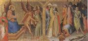 Lorenzo Monaco The Meeting between st James Major and Hermogenes (mk05) oil painting picture wholesale