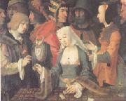 Lucas van Leyden The Fortune Teller (mk05) oil painting picture wholesale