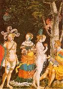 MANUEL, Niklaus The Judgement of Paris oil painting artist