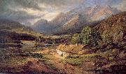 Marquis, James Richard Sunshine and Showers- At Home in Killarney oil painting picture wholesale