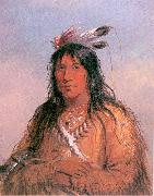 Miller, Alfred Jacob Bear Bull, Chief of the Oglala Sioux oil painting artist