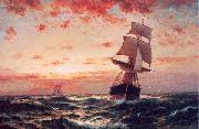 Moran, Edward Ships at Sea oil painting picture wholesale