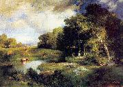 Moran, Thomas A Pastoral Landscape oil painting picture wholesale