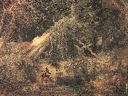 Moran, Thomas Slaves Escaping Through the Swamp oil painting picture wholesale