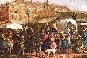 Mosler, Henry Canal Street Market oil painting picture wholesale