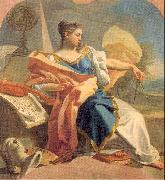 Mura, Francesco de Allegory of the Arts oil painting artist