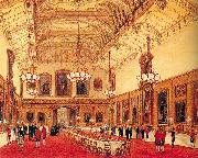 Nash, Joseph The Waterloo Chamber, Windsor Castle oil painting picture wholesale