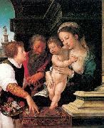 Orlandi, Deodato The Holy Family oil painting artist