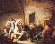Ostade, Adriaen van Peasants Making Merry in a Tavern oil painting artist