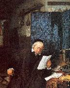 Ostade, Adriaen van Lawyer in his Study oil painting artist