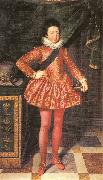 POURBUS, Frans the Younger Portrait of Louis XIII of France at 10 Years of Age oil painting picture wholesale