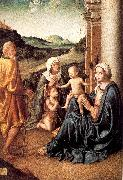 Palmezzano, Marco Holy Family with Saint Elizabeth and the Infant Saint John oil painting picture wholesale