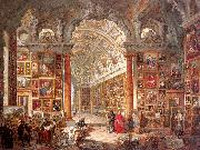 Panini, Giovanni Paolo Interior of a Picture Gallery with the Collection of Cardinal Gonzaga oil painting picture wholesale