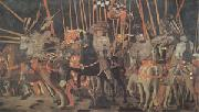 Paolo di Dono called Uccello The Battle of San Romano (mk05) oil painting picture wholesale