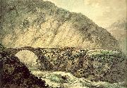 Pars, William The Devil's Bridge in the Canton of Uri oil painting picture wholesale