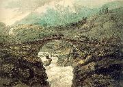 Pars, William Bridge near Mount Grimsel oil painting picture wholesale
