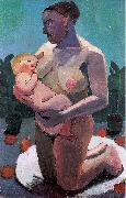 Paula Modersohn-Becker Nursing Mother oil painting picture wholesale
