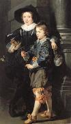 Peter Paul Rubens Albert and Nicolas Rubens (mk01) oil painting picture wholesale