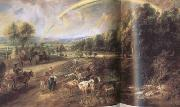Peter Paul Rubens Landscape with a Rainbow (mk01) oil painting picture wholesale