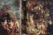 Peter Paul Rubens The Feast of Venus (mk01) oil painting picture wholesale