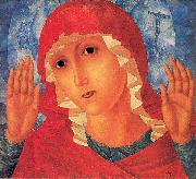Petrov-Vodkin, Kozma Our Lady- Tenderness of Cruel Hearts oil painting picture wholesale