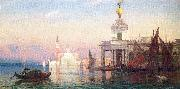 Picknell, William Lamb The Grand Canal with San Giorgio Maggiore oil painting artist
