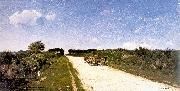 Picknell, William Lamb Road to Concarneau oil painting artist
