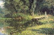 Polenov, Vasily Overgrown Pond oil painting picture wholesale