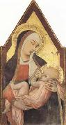 Ambrogio Lorenzetti Nuring Madonna (mk08) oil painting picture wholesale
