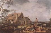 BLOEMAERT, Abraham Landscape with Peasants Resting (mk08) oil painting picture wholesale