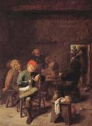 BROUWER, Adriaen Peasants Smoking and Drinking (mk08) oil painting picture wholesale