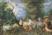 BRUEGHEL, Jan the Elder The Animals entering thte Ark (mk08) oil painting picture wholesale