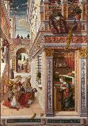 Carlo Crivelli Annunciation whit St Emidius (mk08) oil painting picture wholesale